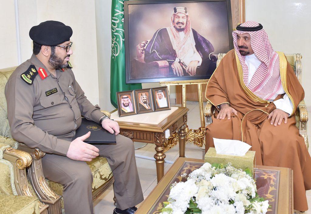 أمير نجران يبارك تكليف الشهري مديرًا للعمليات المشتركة