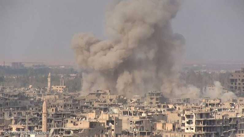 مقتل عشرات المدنيين بقصف النظام السوري على الغوطة الشرقية