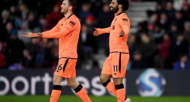 صلاح وفيرمينو يقودان ليفربول لفوز سهل على ساوثامبتون
