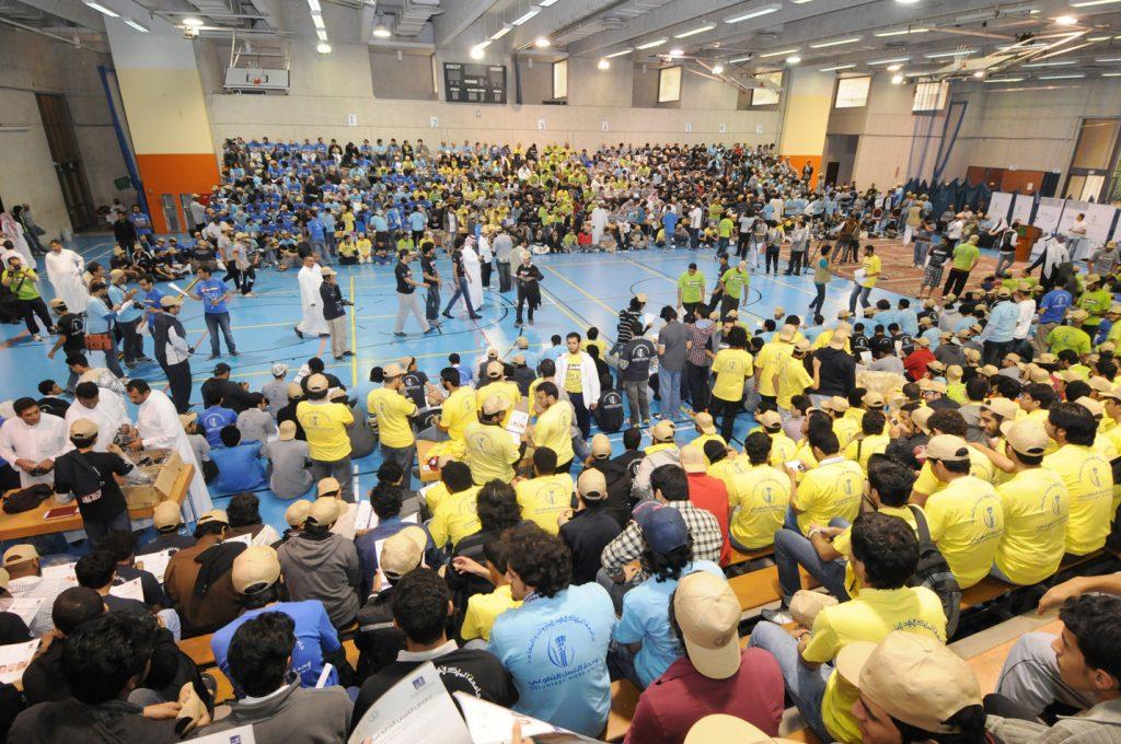 جامعة الملك فهد للبترول والمعادن تنظم مهرجان اليوم التطوعي العاشر