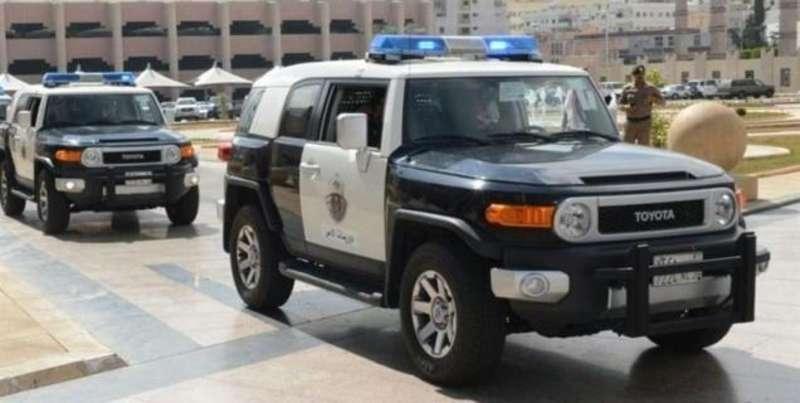 شرطة جدة تقتل مواطن تهجم على دورية بسلاح رشاش