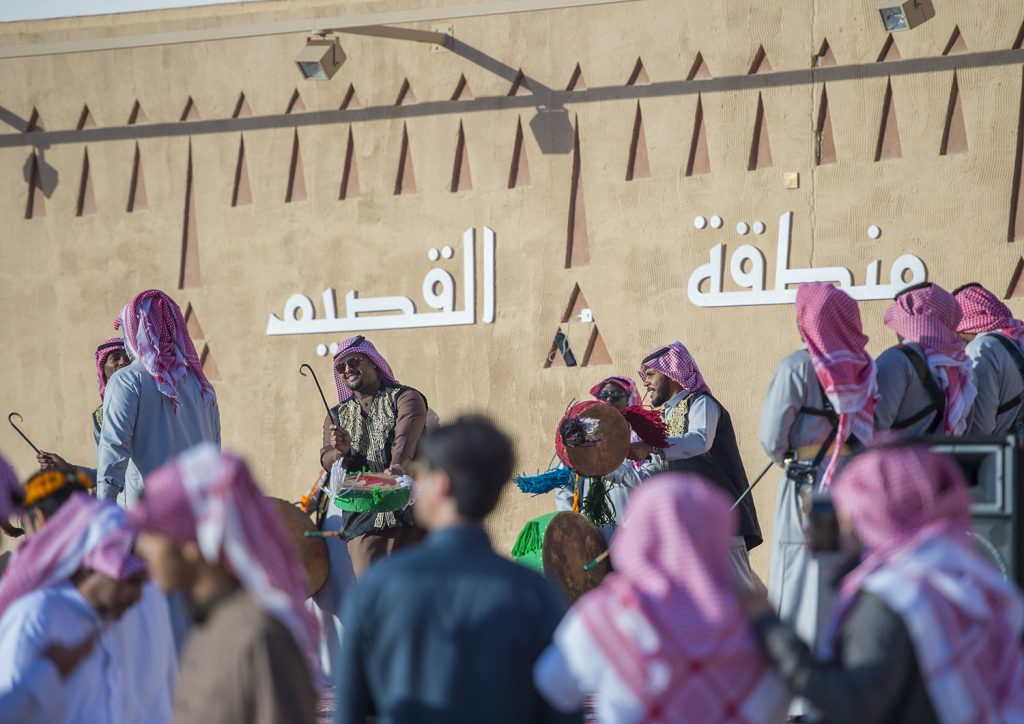 50 فعالية ومعرضاً في 13 موقعاً في جناح القصيم تستقبل زوار مهرجان الجنادرية 32