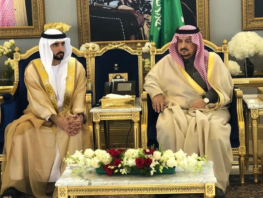 ولي عهد إمارة دبي يصل الرياض