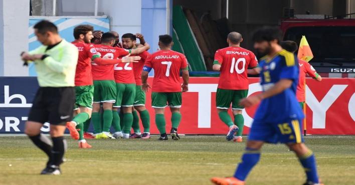 لوكوموتيف يقسو على الوحدة الإماراتي بخماسية نظيفة في أبطال آسيا