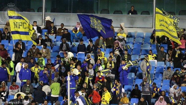 """جماهير النصر تحضر """"الديربي"""" مجاناً .. بعد تكفل الإدارة بشراء المتبقي من التذاكر"""
