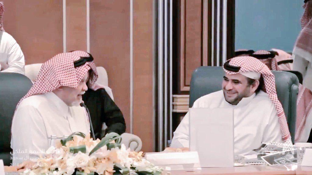 """الأمير بندر بن سلطان يزور مركز الدراسات والشؤون الإعلامية بالديوان الملكي """"فيديو"""""""