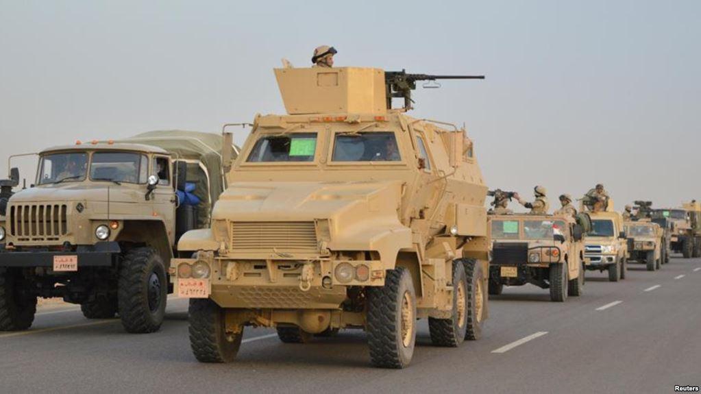 """الجيش المصري يعلن حصيلة 4 أيام من """"عملية سيناء"""""""