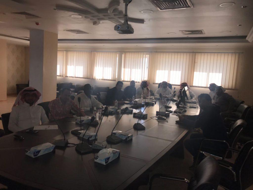حلقة تدريبية لخدمة بلاغات وزارة النقل بفرع الباحة
