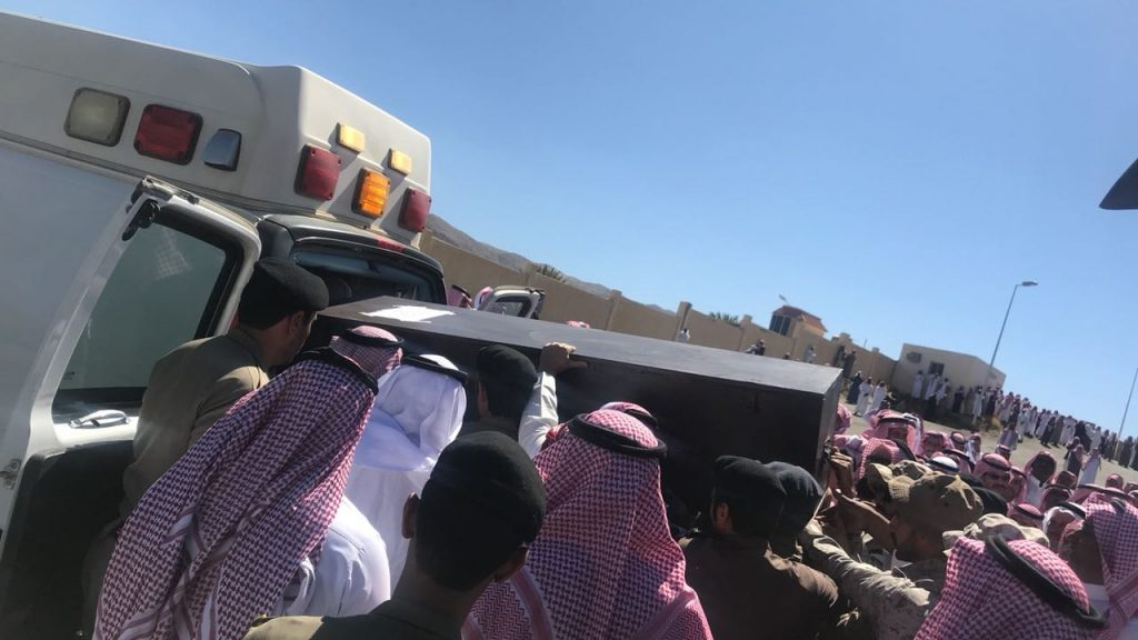 """""""محافظ القرى"""" يستقبل جثمان شهيد الوطن """"الزهيري"""""""