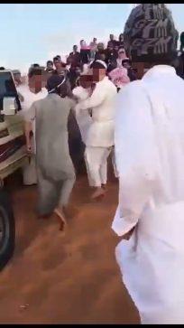 شرطة الرياض توضح واقعت المشاجره فى إحدى المناطق الصحراوية