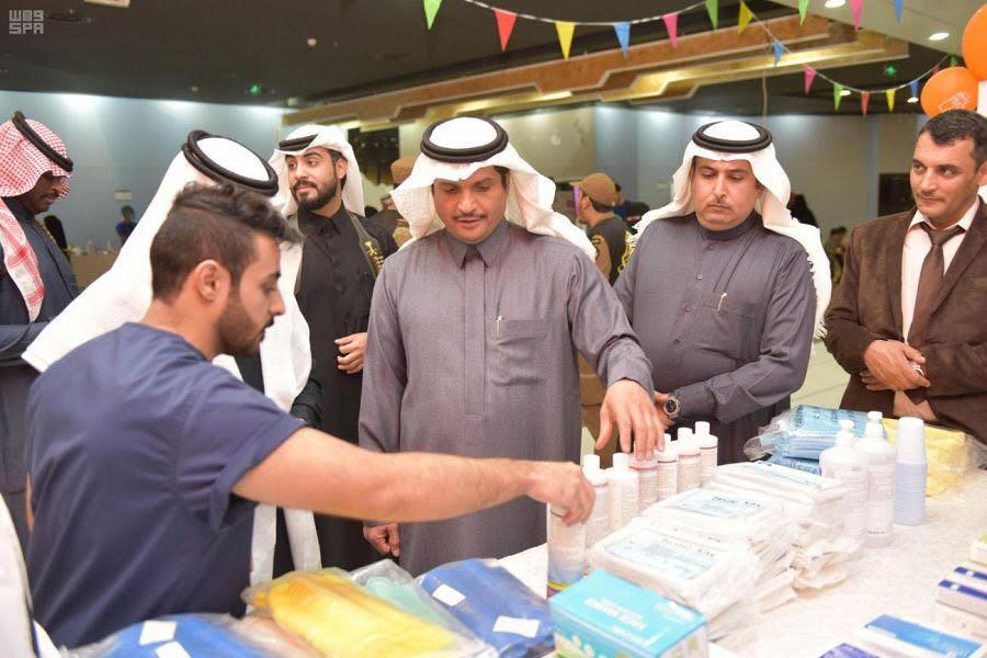 جامعة القصيم تختتم حملة لمكافحة السمنة وأخرى لأمراض الفم والأسنان بالرس