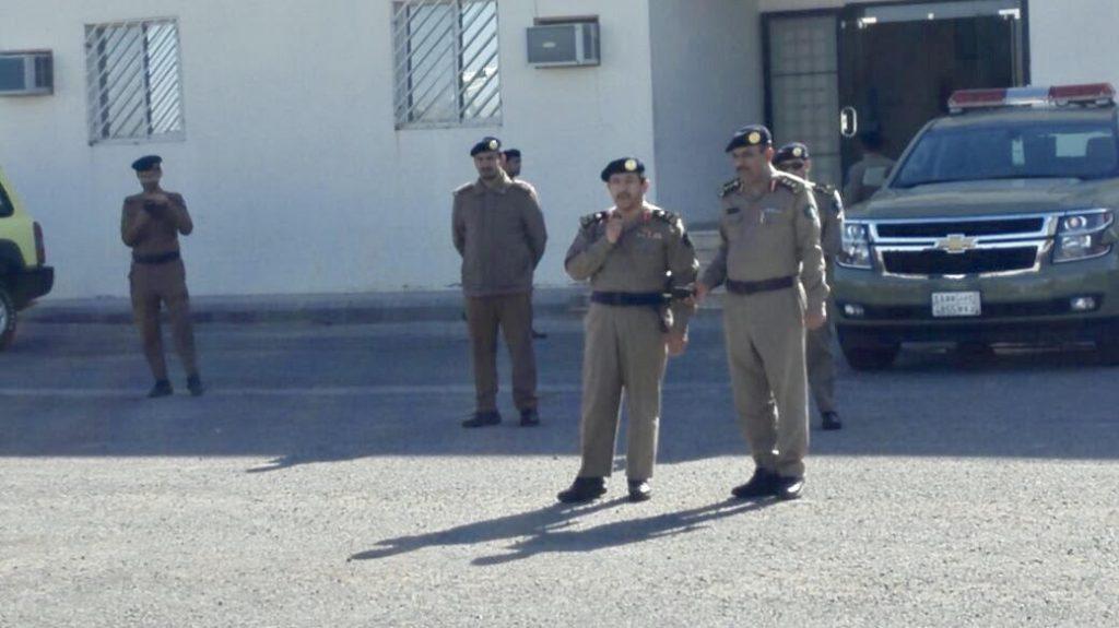 مدير الدفاع المدني بالقصيم يتفقد مركز التدريب