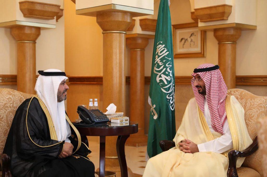 نائب أمير منطقة مكة المكرمة يستقبل مدير مكافحة المخدرات المعُيّن حديثاً