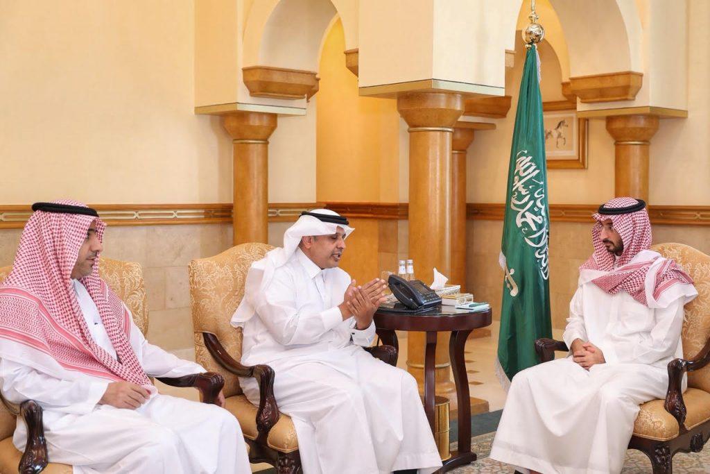 نائب أمير منطقة مكة المكرمة يلتقي رئيس هيئة النقل العام