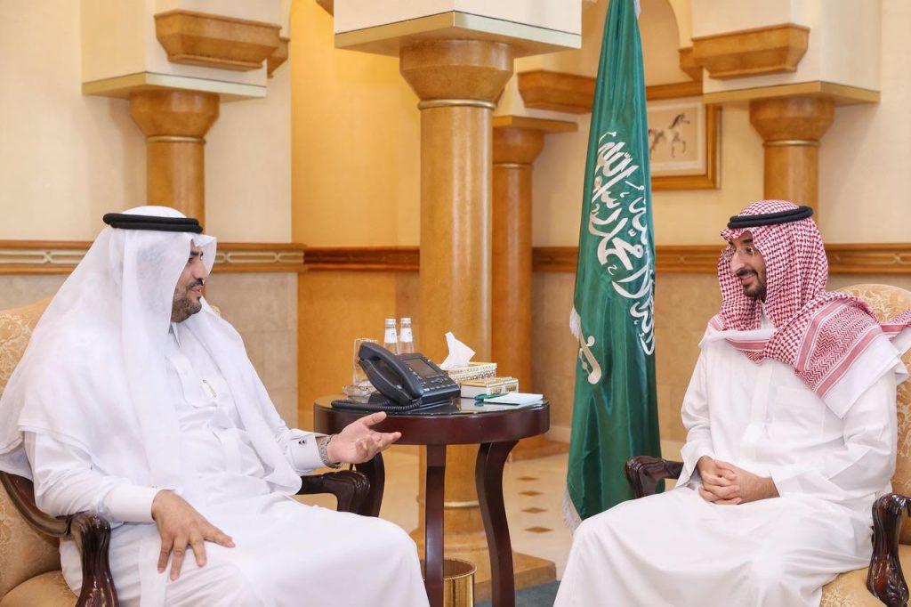 نائب أمير منطقة مكة المكرمة يستقبل مدير عام فرع هيئة الرقابة والتحقيق بالمنطقة
