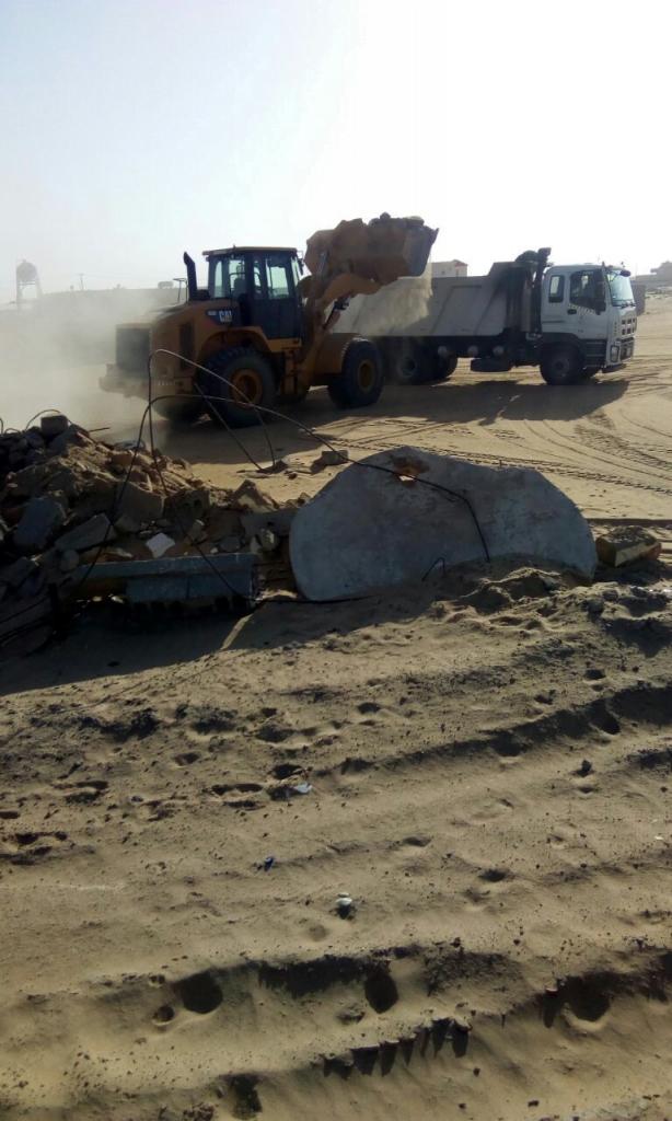 بلدية خباش بنجران تطلق حملة للنظافة