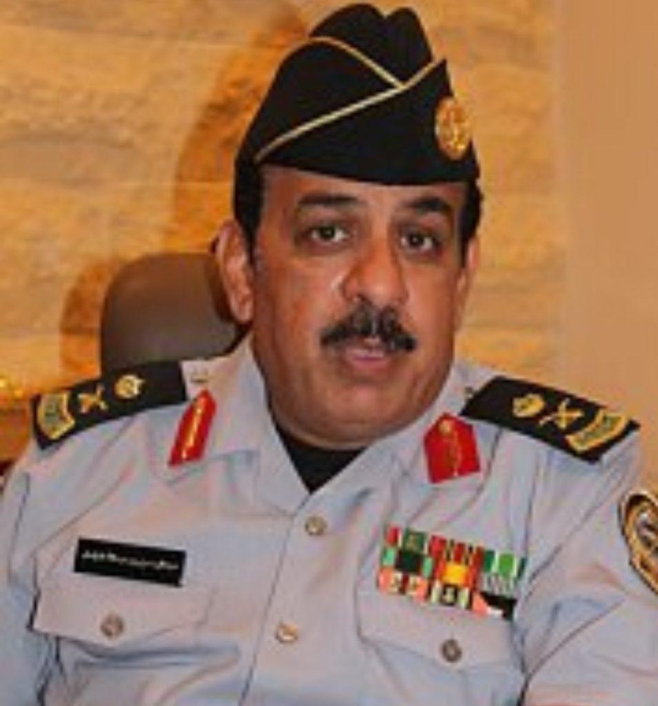 والده اللواء عبدالرحمن الزامل قائد معسكر الجنادرية إلى رحمه الله