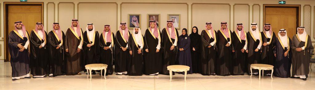 الأمير أحمد بن فهد يستقبل رئيس وأعضاء غرفة الشرقية