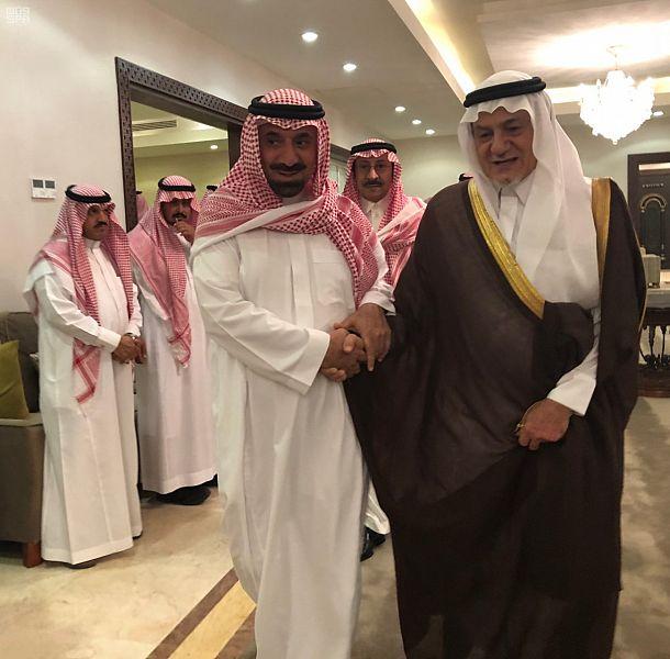 أمير منطقة نجران يستقبل المعزين في وفاة الأمير خالد بن عبدالله بن عبدالعزيز بن مساعد صحيفة المناطق السعوديةصحيفة المناطق السعودية