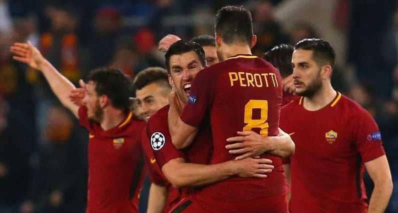روما وأشبيلية إلى ربع نهائي أبطال أوروبا