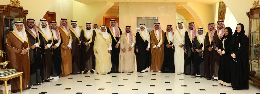أمير الشرقية يستقبل رئيس وأعضاء غرفة الشرقية