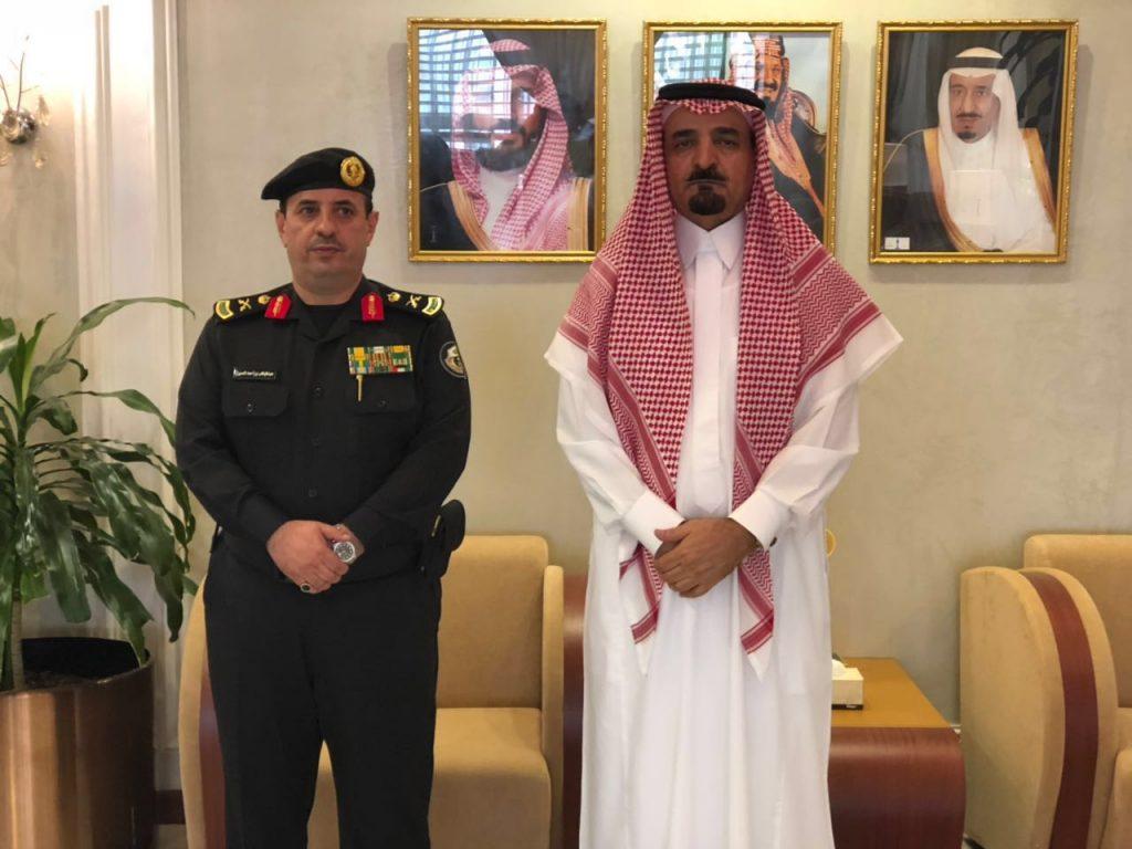 مساعد وزير الداخلية يقلد اللواء عبدالوهاب بن أحمد العسيري رتبته الجديدة