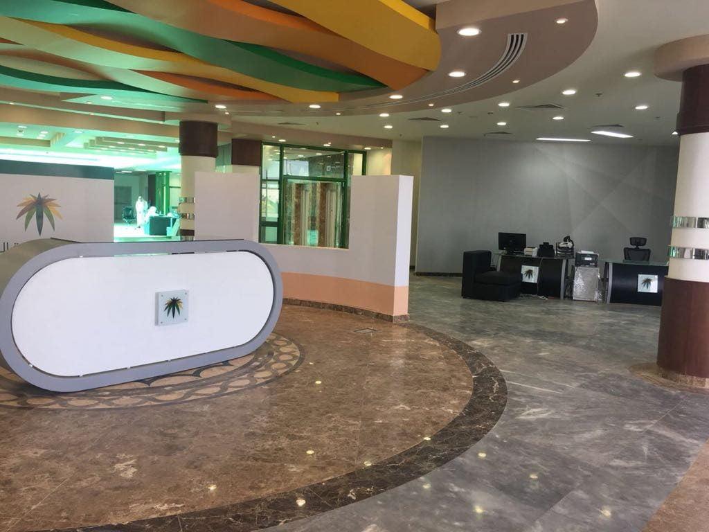"""عمل المجمعة يبدأ في استقبال عملائه في المبنى الجديد الذي أقيم على مساحة """"7700م"""""""