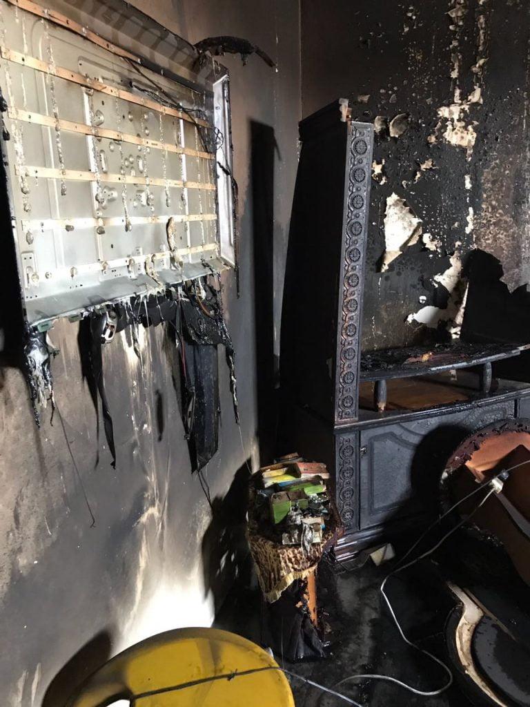 وفاة مقيم في حريق منزل بتبوك