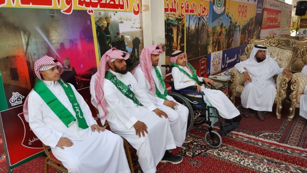 عمل وتنمية الرياض يشارك في فعاليات اليوم العالمي للدفاع المدني