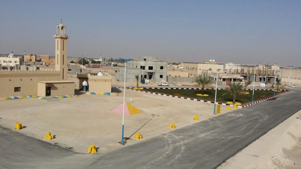 بلدية محافظة قرية العليا تنتهي من إنشاء حديقة حي الربيع