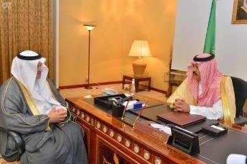 أمير منطقة حائل يستقبل نائب رئيس الهيئة السعودية للحياة الفطرية