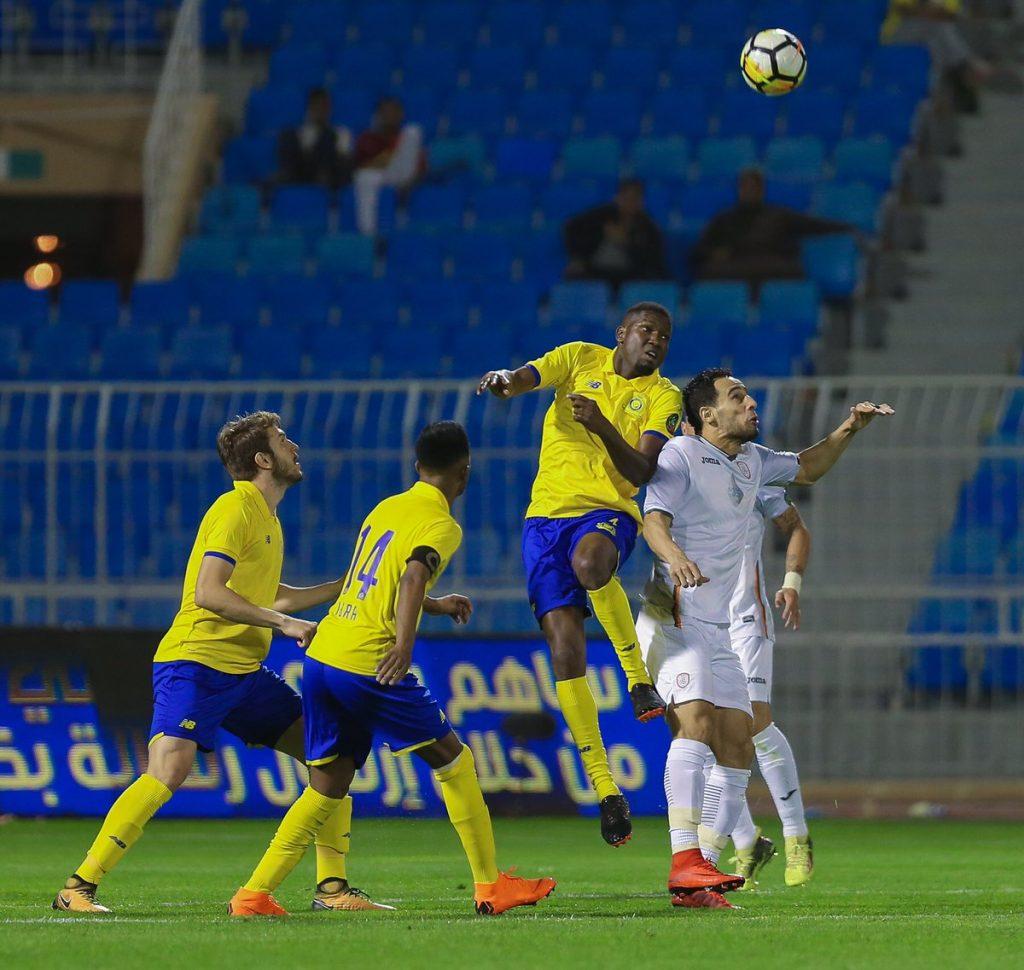 النصر يخطف فوزا مهما من الشباب ويصعد للمركز الثالث
