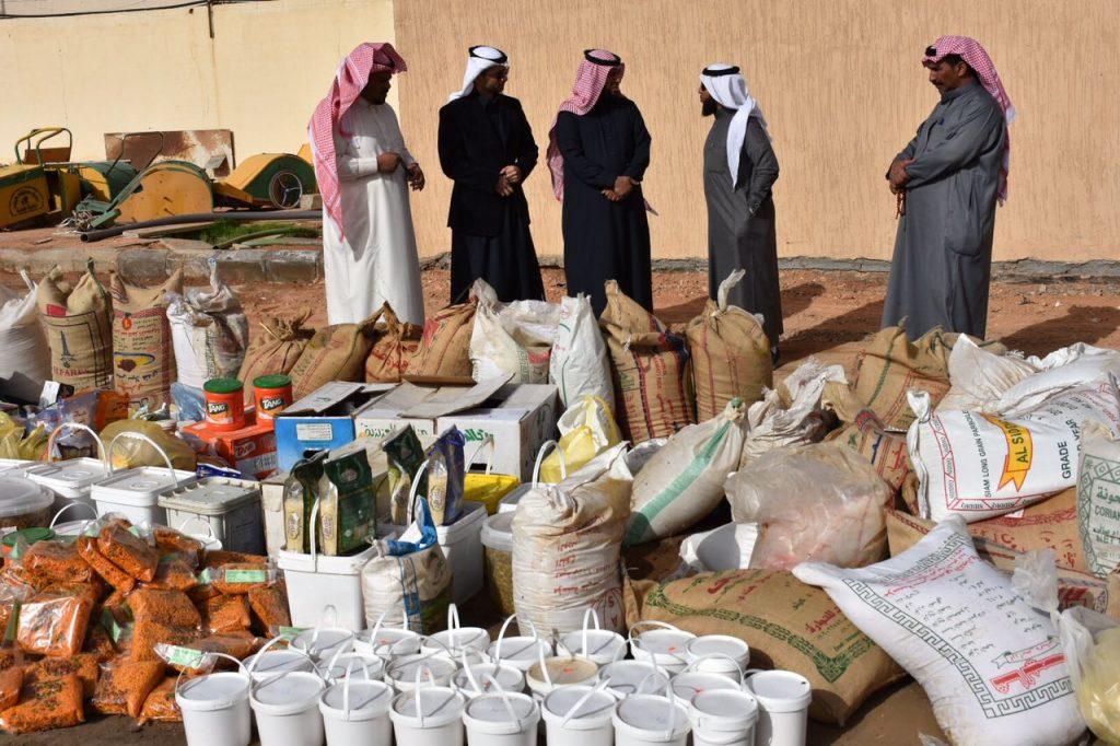 بلدية طريف تضبط 7 طن من المواد الغذائية منتهية الصلاحية