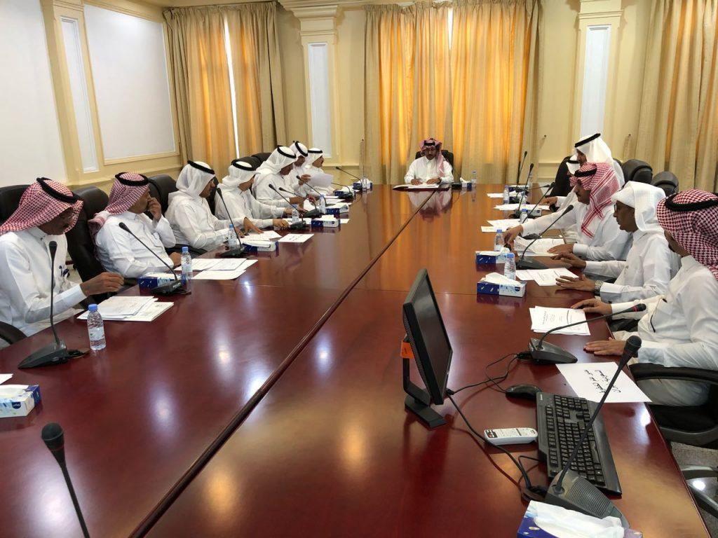وكيل إمارة نجران يرأس اجتماع لجنة الإجازات