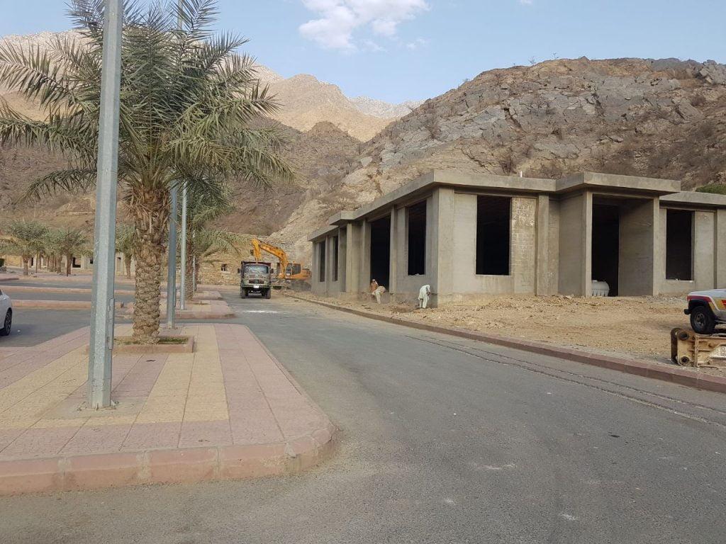 إنشاء متجر تراثي بقرية ذي عين التراثية