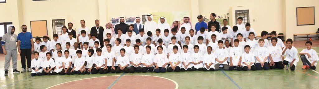 ختام مهرجان مشروع تطوير كرة اليد بمدارس بتعليم تبوك