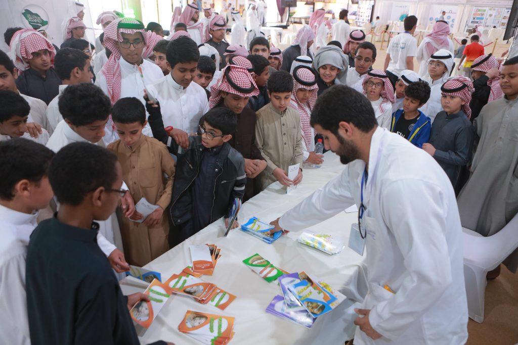 3300 مستفيد من البرامج خلال يومين بحملة جامعة القصيم بعقلة الصقور