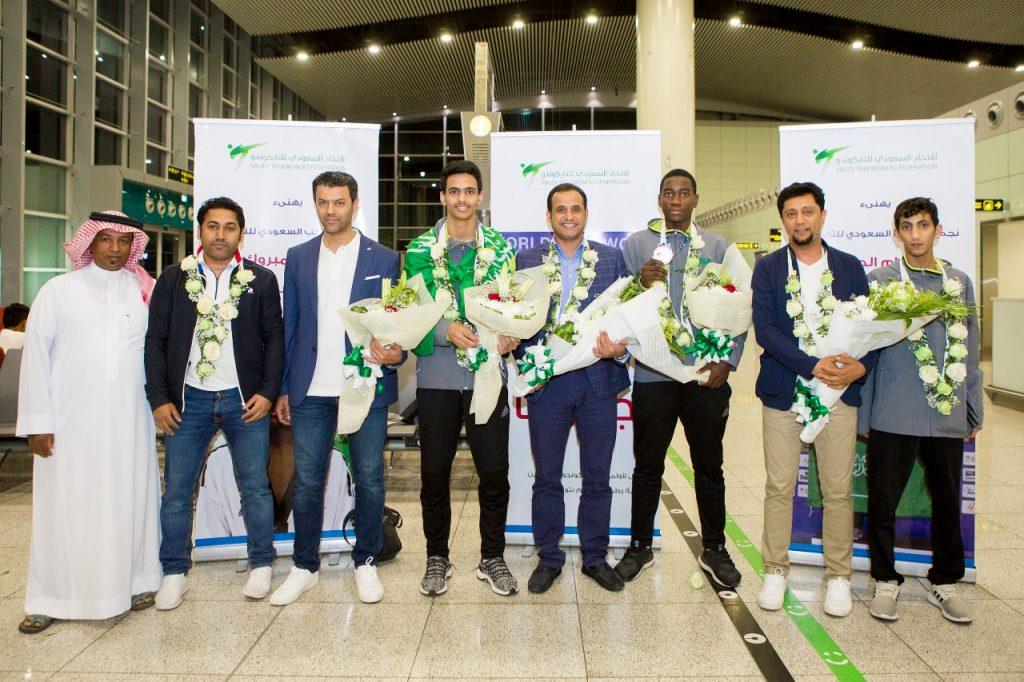 التايكوندو السعودي  الأول عربياً