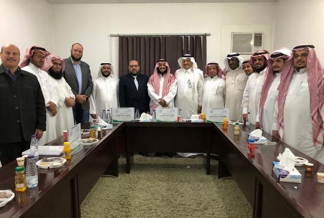 الأستاذ سعود البقمي يحصل على الماجستير بامتياز