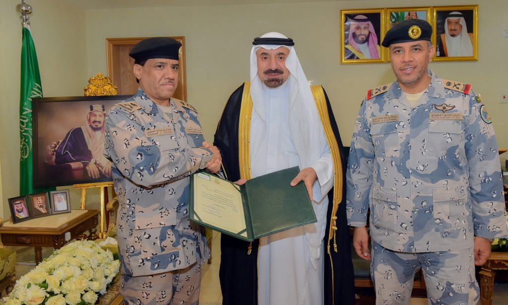 أمير نجران يكرّم اللواء العطوي ويبارك تعيين القحطاني مساعدًا لقائد حرس الحدود