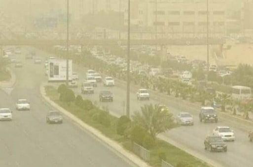 أتربة و غبار مصحوبة بأنخفاض في درجات الحرارة على مناطق ( الحدود الشمالية ، الشرقية ، الرياض ، القصيم ، حائل ، المدينة المنورة ) وسحب رعدية ممطرة على مرتفعات (نجران ،عسير ،جازان)