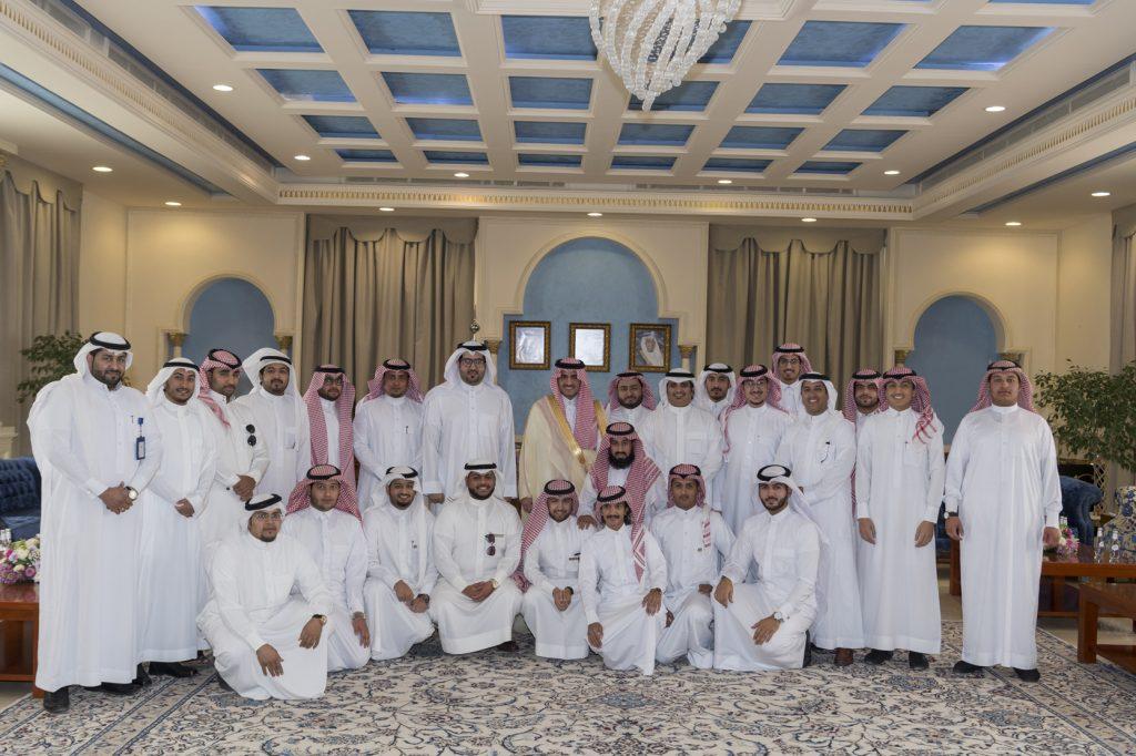 أمير الجوف التقى الرئيس التنفيذي لمجلس الشباب ونوابه