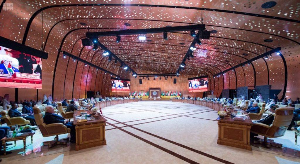 (إعلان الظهران) يؤكد على أهمية تعزيز العمل العربي المشترك على منهجية واضحة وأسس متينة تحمي أمتنا من الأخطار