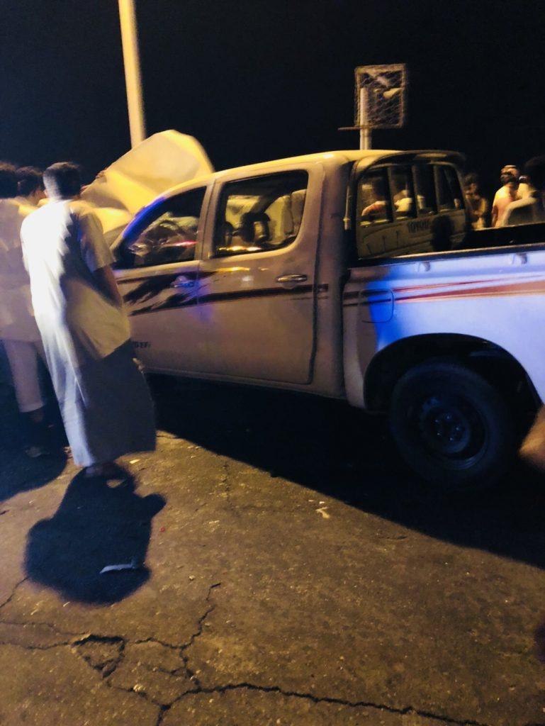أربع وفيات وإصابتين في حادث مروري مروع بالعرضيات
