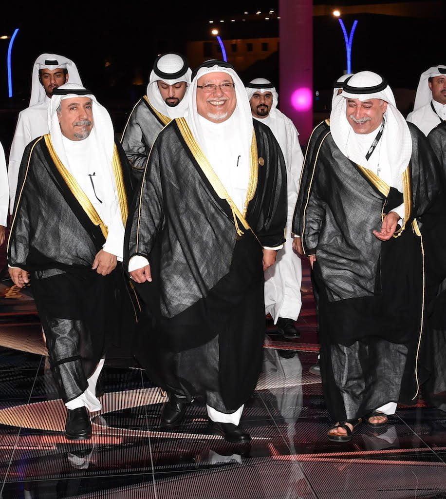 رغم الحياد..ممثل أمير الكويت يشارك افتتاح مكتبة قطر الوطنية