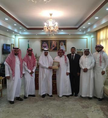 فريق برنامج المدن الصحية يزور محافظة شرورة