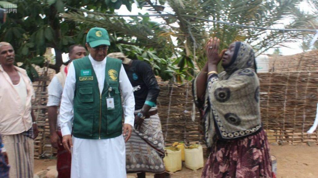 فريق ميداني من مركز الملك سلمان للإغاثة في أرخبيل سُقُطرى اليمنية لتقييم الاحتياج وتقديم المساعدات الإغاثية