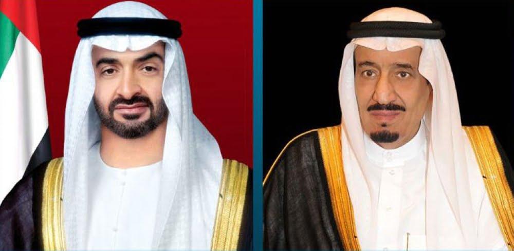 خادم الحرمين الشريفين يتلقى اتصالاً هاتفيًا من ولي عهد أبوظبي للتهنئة بحلول شهر رمضان المبارك