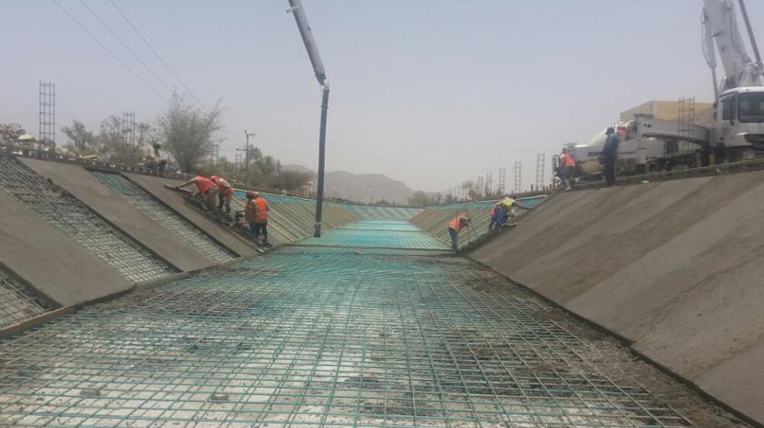 بتكلفة إجمالية 27 مليون ريال…إنجاز 90 % من مشروع درء أخطار السيول بشرفة نجران