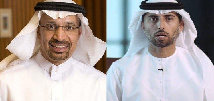 وزير الطاقة يناقش التطورات الأخيرة في سوق النفط العالمية مع وزير الطاقة الإماراتي ورئيس مؤتمر منظمة أوبك